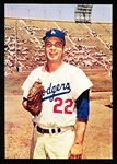 1960 Morrell Meats Dodgers- Johnny Podres