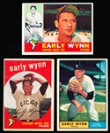 Early Wynn- 3 Cards