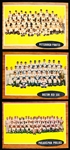 1962 Topps Bb- 6 Diff Team Cards