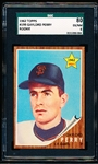 1962 Topps Baseball- #199 Gaylord Perry RC- SGC 80 (Ex/NM 6)
