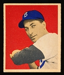 1949 Bowman Bb- #70 Carl Furillo, Brooklyn- Rookie