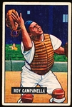 1951 Bowman Baseball- #31 Roy Campanella, Brooklyn