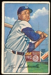 1952 Bowman Baseball- #44 Roy Campanella, Brooklyn
