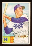 1952 Bowman Baseball- #116 Duke Snider, Brooklyn