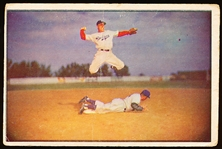 1953 Bowman Bb Color- #33 Pee Wee Reese, Brooklyn