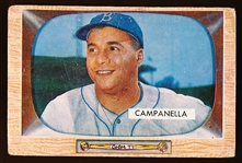 1955 Bowman Bb- #22 Roy Campanella, Dodgers