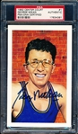 1992 Center Court Basketball- #1 George Mikan- PSA/DNA Certified Authentic Autograph