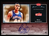 2005-06 Fleer Greats of the Game- Certified Autographed Card- #GG-BD Brad Daugherty, Cavs