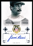 2014 Panini Baseball- Hall of Fame 75th Anniv- Certified Autograph- #86 Jim Rice