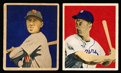 1949 Bowman Bb- 2 Cards
