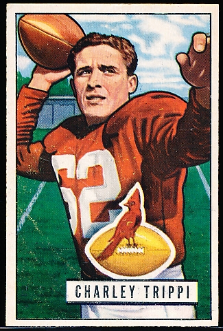 1951 Bowman Football- #137 Charley Trippi, Chicago Cardinals