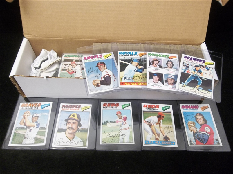 1977 Topps Baseball- 500 Assorted