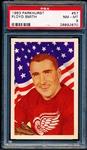 1963-64 Parkhurst Hockey- #57 Floyd Smith, Red Wings- PSA Nm-Mt 8
