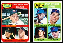1965 Topps Bb- 2 Diff