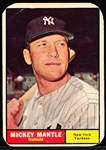 1961 Topps Bb- #300 Mickey Mantle, Yankees