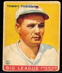 1933 Goudey Bb- #36 Tommy Thevenow, Pirates