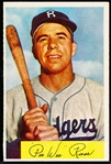 1954 Bowman Bb- #58 Pee Wee Reese, Dodgers
