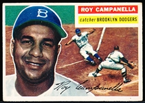 1956 Topps Bb- #101 Roy Campanella, Dodgers