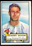 1952 Topps Baseball- #266 Murry Dickson, Pirates
