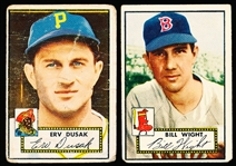 1952 Topps Bb- 2 Cards
