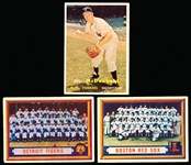1957 Topps Bb- 23 Diff