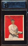 1915 Cracker Jack Bb- #20 Cy Falkenberg, Indianapolis Federals- GAI Authentic