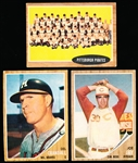 1962 Topps Bb- 24 Diff