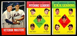 1963 Topps Bb- 25 Diff