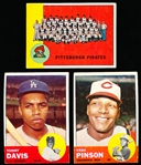 1963 Topps Bb- 20 Diff