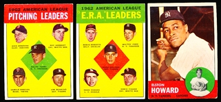 1963 Topps Bb- 29 Diff