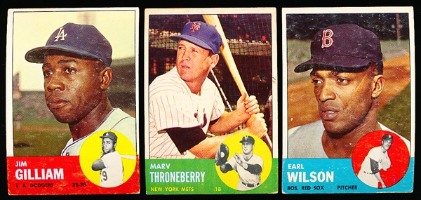 1963 Topps Bb- 31 Diff