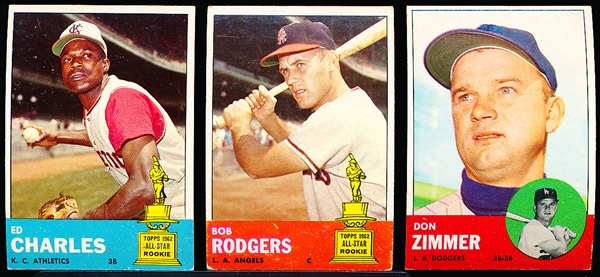 1963 Topps Bb- 26 Diff