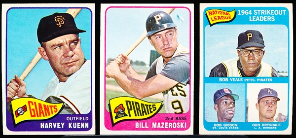 1965 Topps Bb- 12 Diff