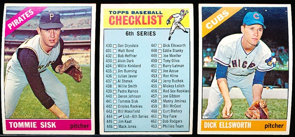 1966 Topps Bb- 30 Diff