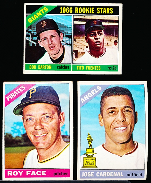 1966 Topps Bb- 25 Diff