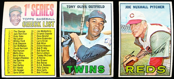1967 Topps Bb- 30 Diff