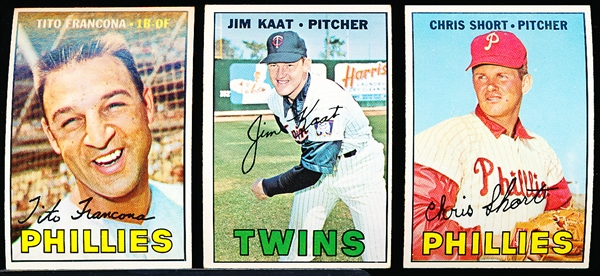 1967 Topps Bb- 37 Diff