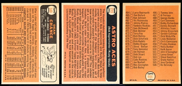 1966 Topps Bb- 34 Diff