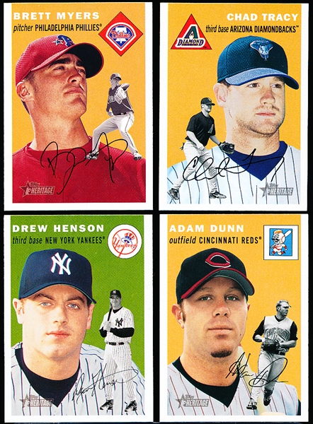 2003 Topps Heritage Bsbl.- 8 Diff. SP's