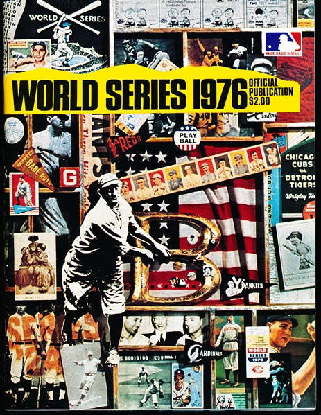 1976 World Series MLB Program