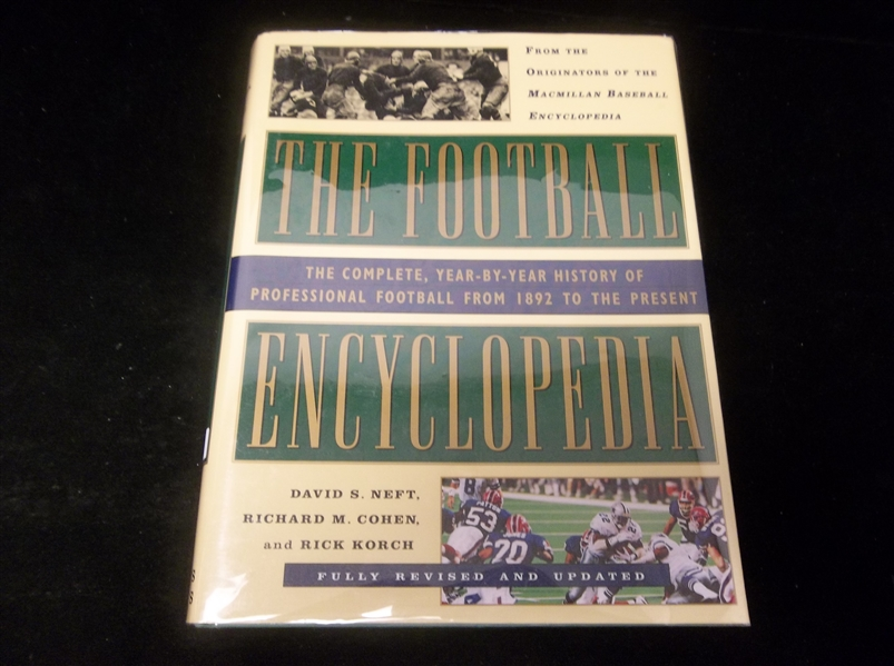 1994 The Football Encyclopedia, by Neft, Cohen, and Korch