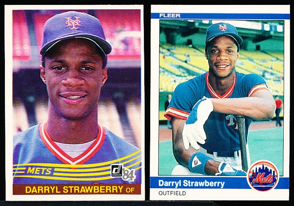 1984 Darryl Strawberry Bsbl.- 2 Diff. RC's