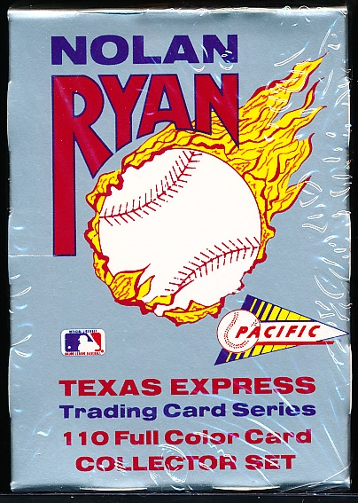 1991, 1992 Pacific Nolan Ryan Bsbl.- 1 Factory Sealed Set of 110 from Each Year!