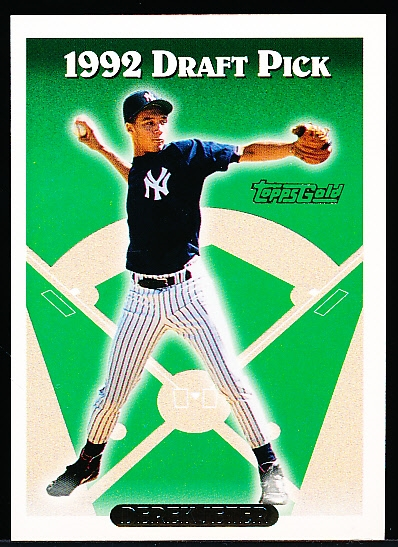 "1993 Topps Bb- ""Gold""- #98 Derek Jeter RC, Yankees"