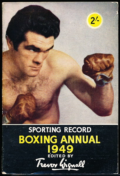 Boxing Annual 1949- Edited by Trever Wignall