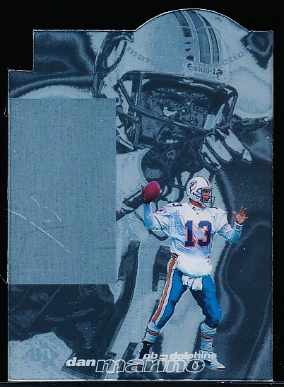 "1997 UD3 Football- ""Marquee Attraction"" Die-Cut Insert- #MA5 Dan Marino, Dolphins"