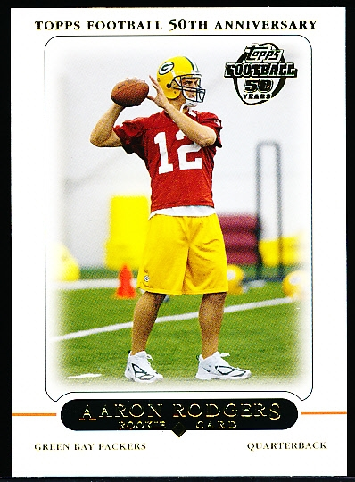 2005 Topps Ftbl.- #431 Aaron Rodgers RC, Packers