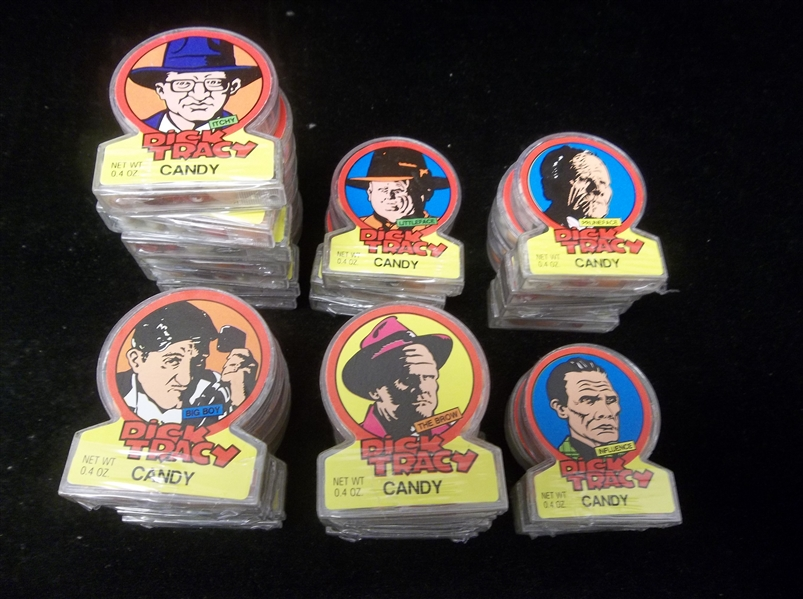 "1990 Topps ""Dick Tracy"" Candy Dispensers- 26 Asst."