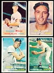 1957 Topps Baseball- Boston Red Sox- 11 Diff