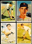 1957 Topps Baseball- Boston Red Sox- 10 Diff